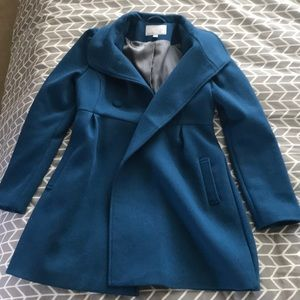 Old navy, lined wool trench coat